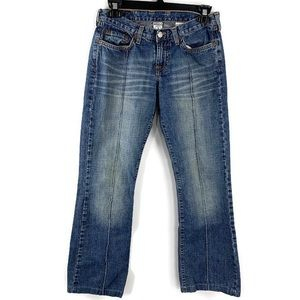 Lucky Brand Low Rise Bootcut Denim Jeans Size 0/25
